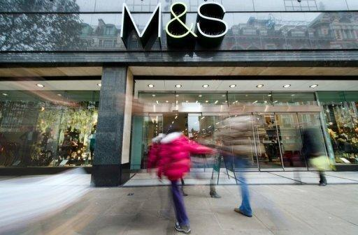 Marks & Spencer shares drop on poor Christmas trading