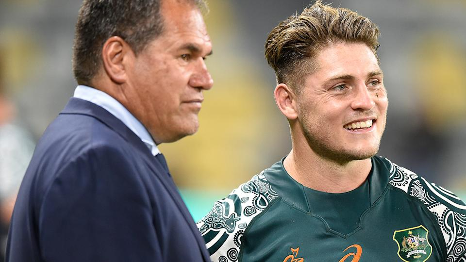 Australia has worked their way back from the rugby scrapheap, and Saturday's match against Argentina is a chance to cement their place. (Photo by Matt Roberts/Getty Images)