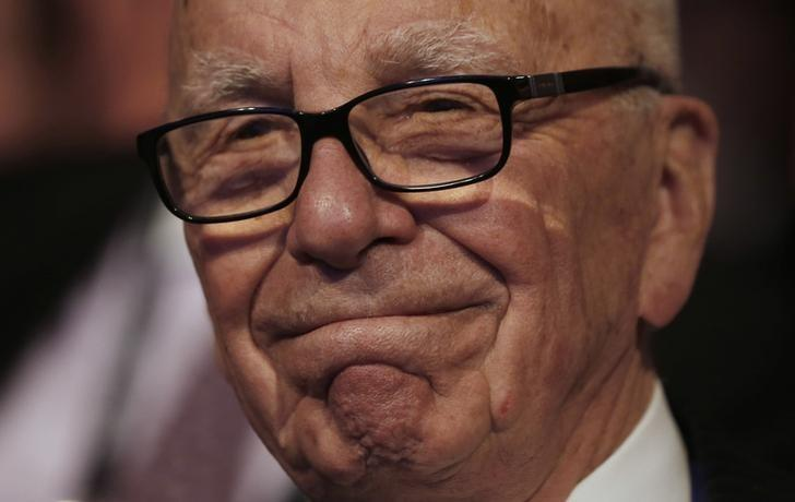News Corp Chief Executive Murdoch attends the Wall Street Journal CEO council annual meeting in Washington