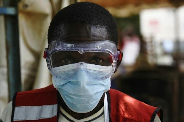 Neighbouring Uganda has taken preventative measures after cases of Ebola emerged there (AFP Photo/ISAAC KASAMANI)