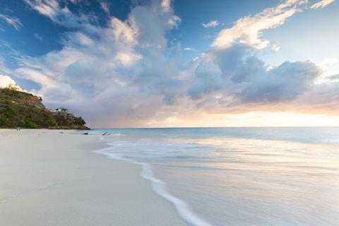 Swap white snow for white sand - Credit: GETTY