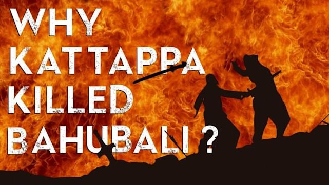 Why kattappa killed baahubali