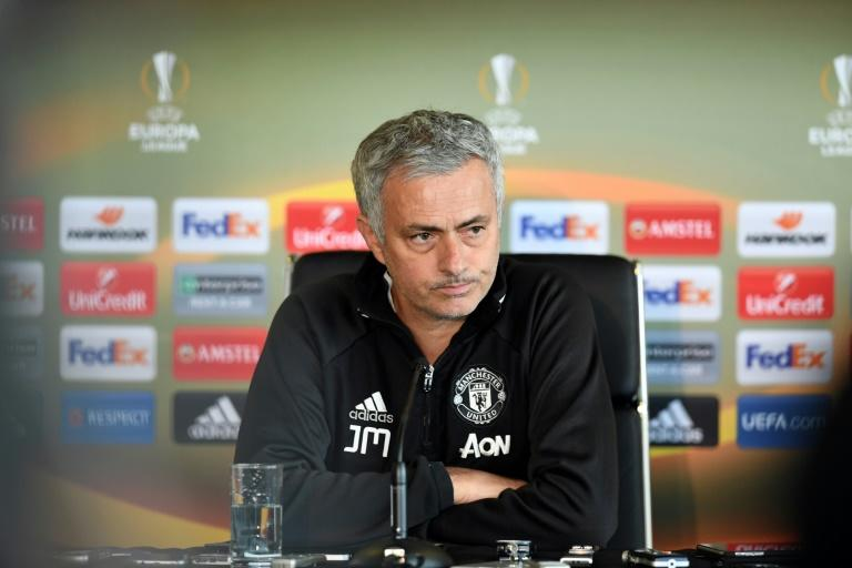 Jose Mourinho holds 10-second press conference then walks out