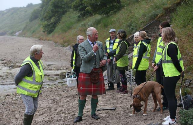 Prince of Wales visit to Scotland