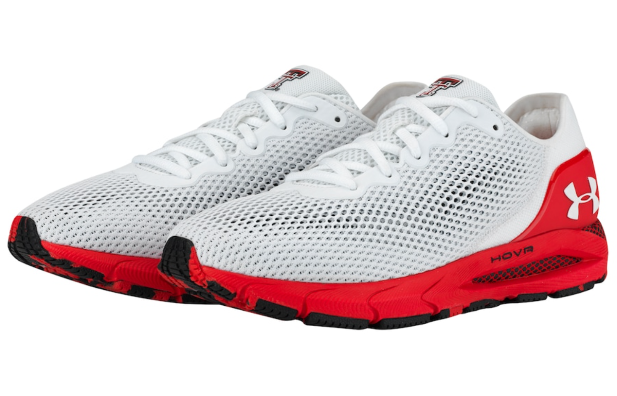 Red Raiders Under Armour HOVR Sonic 4 Running Shoe