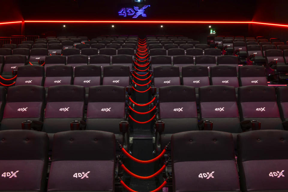 <p>Over 2.5 million people have experienced 4DX since Cineworld launched the technology to UK audiences in 2015. (Cineworld) </p>