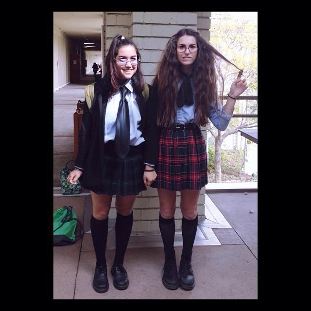 """<p>These BFF's crushed <em>The Princess Diaries </em>GAME. Bonus points if you walk around with an ice cream cone.</p><p><a href=""""https://www.instagram.com/p/la0yiyu1oK/?utm_source=ig_embed"""" rel=""""nofollow noopener"""" target=""""_blank"""" data-ylk=""""slk:See the original post on Instagram"""" class=""""link rapid-noclick-resp"""">See the original post on Instagram</a></p>"""