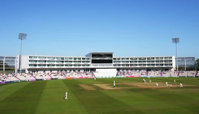 The Ageas Bowl is poised to host England in July (PA)