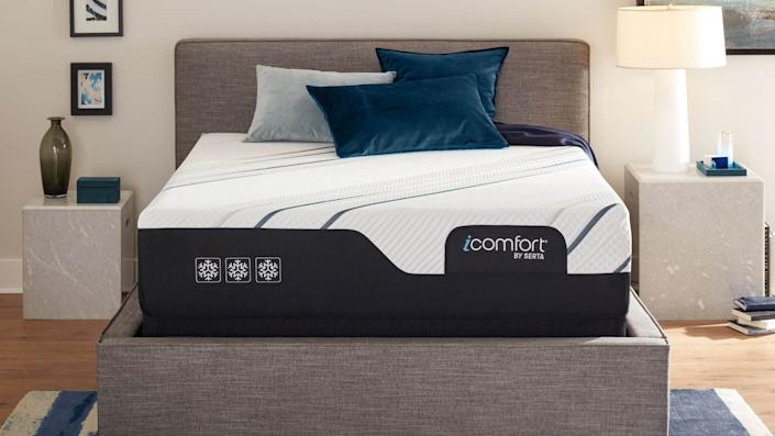 Serta's iComfort mattresses are just one of the many top deals Mattress Firm is offering.