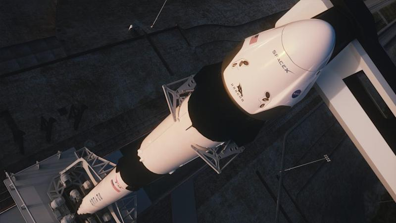 SpaceX Crew Dragon on Falcon 9