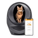 """<p><strong>Litter Robot</strong></p><p>litter-robot.com</p><p><strong>$499.00</strong></p><p><a href=""""https://go.redirectingat.com?id=74968X1596630&url=https%3A%2F%2Fwww.litter-robot.com%2Flitter-robot-iii-open-air-with-connect.html&sref=https%3A%2F%2Fwww.goodhousekeeping.com%2Fhome%2Fcleaning%2Fg31206600%2Fbest-self-cleaning-litter-box%2F"""" rel=""""nofollow noopener"""" target=""""_blank"""" data-ylk=""""slk:Shop Now"""" class=""""link rapid-noclick-resp"""">Shop Now</a></p><p>The Litter-Robot 3 Connect <strong>allows you to monitor your cat's bathroom habits (and the level of waste in the receptacle) via its Wi-Fi-enabled app.</strong> This litter box works with any premium clumping litter and is ideal for any cats between 5-20 pounds as well as multiple cats, though not for kittens. It is substantially larger than other enclosed litter boxes, so consider your available space. </p><p>Its cleaning mechanism is slightly different than other automatic boxes: The globe rotates after use and deposits clumps and waste into the receptacle below the box. Bells and whistles include a night light, sleep mode, and an additional cycle timer. </p><p>The Litter-Robot 3 Connect has a 90-day money-back guarantee, and an 18-month warranty. In our Cleaning Lab tests, it was easy to set up, worked smoothly, and completely removed the """"clumps"""" we created. </p>"""