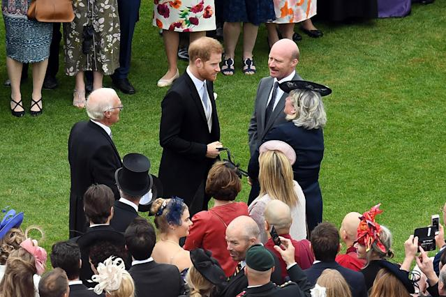 Harry joined one of the parties in 2019. (Getty Images)