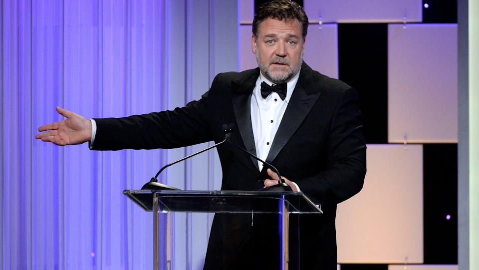 Russell Crowe en octobre 2016 - Getty Images - AFP