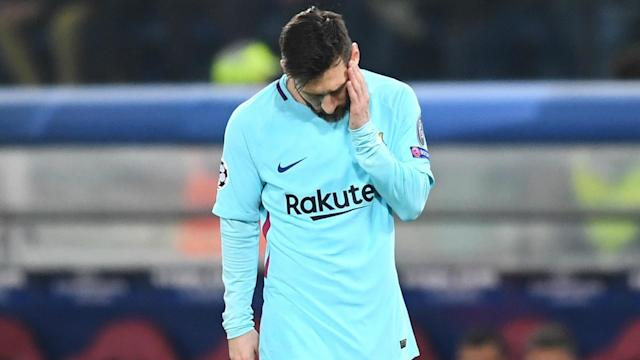 Barca head coach Ernesto Valverde said Lionel Messi and the LaLiga leaders cannot dwell on their loss to Roma ahead of Valencia's visit.