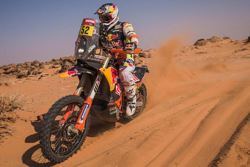 "#52 Red Bull KTM Factory Team: Matthias Walkner<span class=""copyright"">Red Bull Content Pool</span>"