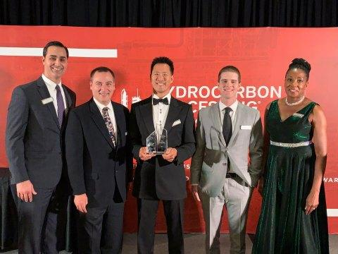 Fluor's Deep Dewpointing Process Wins Best Gas Processing/LNG Technology at Hydrocarbon Processing 2019 Awards