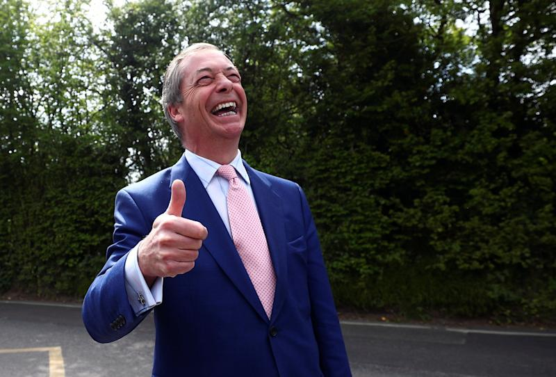 <strong>One happy chappy.</strong> (Photo: Hannah Mckay / Reuters)
