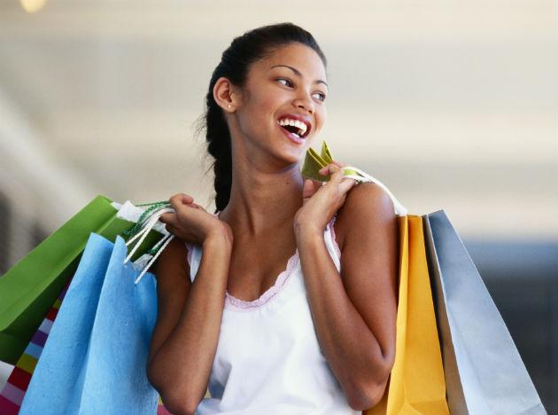 <b>Shopping </b><br>It is thought that the average woman burns 48,000 calories a year from shopping alone; that works out at around 385 calories per week. If you get that shopping-guilt almost all women feel when they wander into a store then don't panic. Just think the money you saved from the gym can go towards this new dress or new pair of boots.