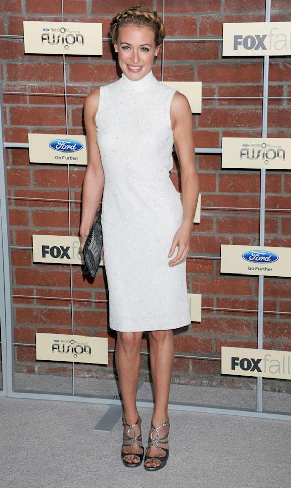 "Cat Deeley (""So You Think You Can Dance"") attends Fox's Fall 2012 Eco-Casino party at The Bookbindery on September 10, 2012 in Culver City, California."