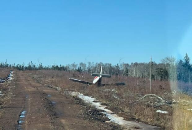 The crash occurred in February, but no one in the area seemed to know until the Joint Rescue Coordination Centre in Halifax confirmed it was not recent.