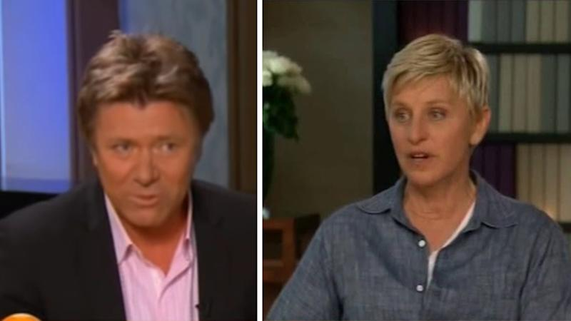 Richard Wilkins and Ellen DeGeneres