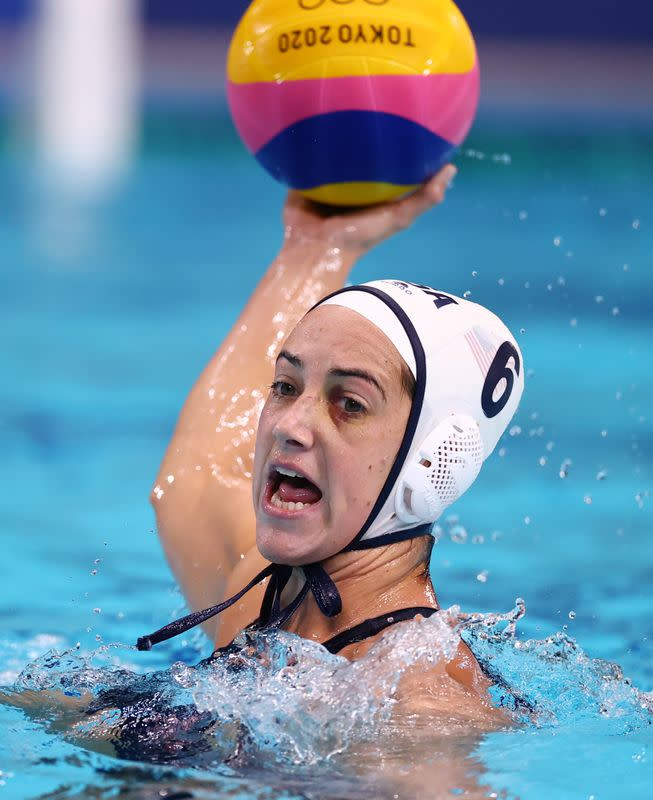 Water Polo - Women - Group B - United States v Russian Olympic Committee