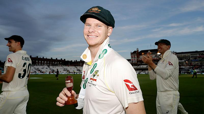 Steve Smith was Australia's standout batsman in the Ashes.
