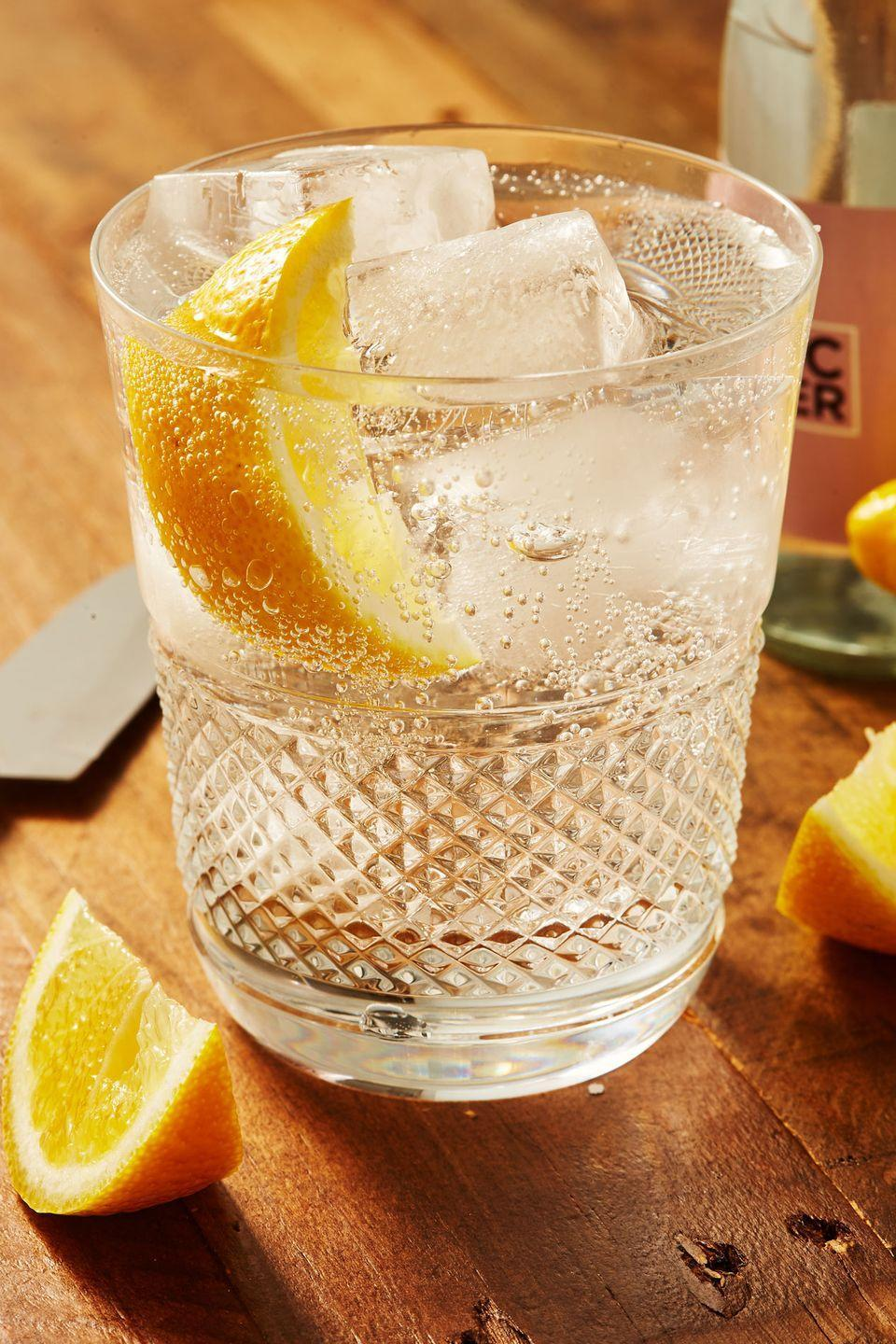 """<p>A drink so simple, you can focus on each other rather than mixing drinks. </p><p>Get the recipe from <a href=""""https://www.delish.com/cooking/recipe-ideas/a30535838/vodka-tonic-recipe/"""" rel=""""nofollow noopener"""" target=""""_blank"""" data-ylk=""""slk:Delish"""" class=""""link rapid-noclick-resp"""">Delish</a>.</p>"""