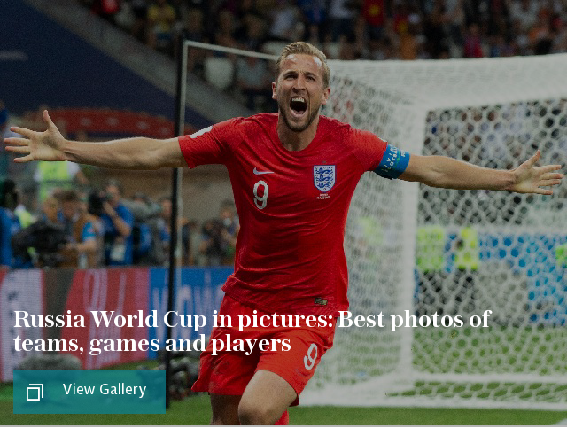 Russia World Cup in pictures: Best photos of teams, games and players