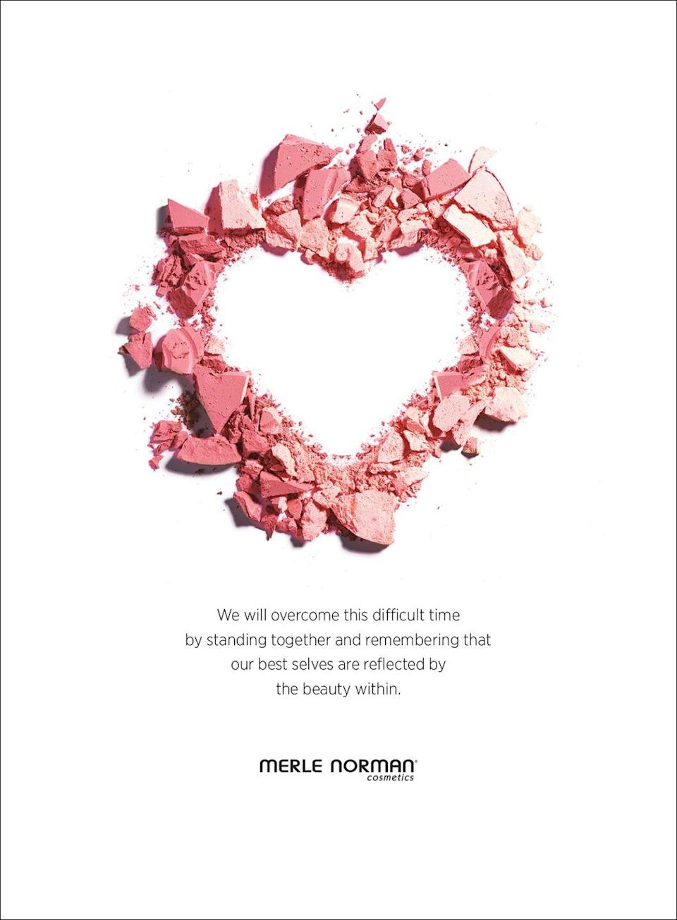 <p>We will overcome this difficult time by standing together and remembering that our best selves are reflected by the beauty within. </p>