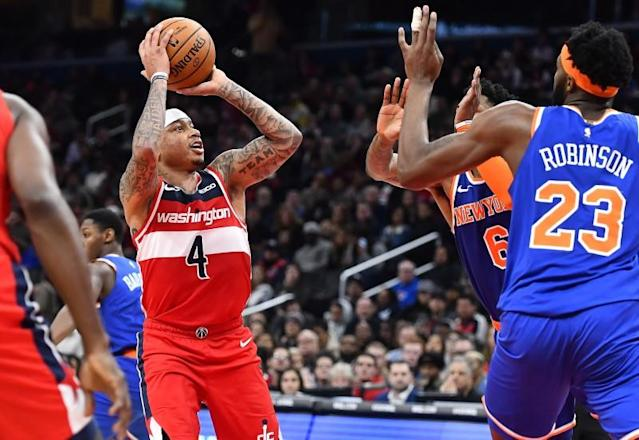 FILE PHOTO: NBA: New York Knicks at Washington Wizards