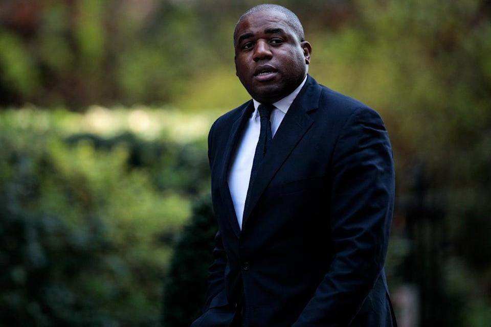 """Mr Lammy wrote that his visit to Pentonville prison was cancelled """"vindictively"""" by Mr Raab  (Getty Images)"""