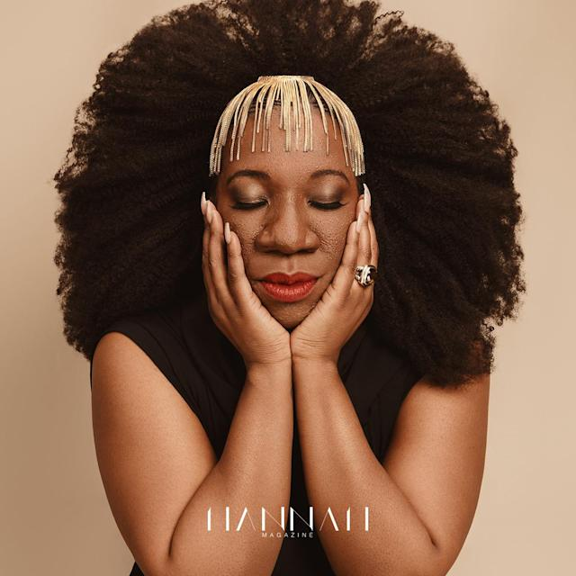 "#MeToo founder Tarana Burke is the cover star for <em>Hannah Magazine</em>'s third issue.  (Photo: <a href=""https://www.instagram.com/dariothephotog/"" rel=""nofollow noopener"" target=""_blank"" data-ylk=""slk:Dario Calmese"" class=""link rapid-noclick-resp"">Dario Calmese</a>)"