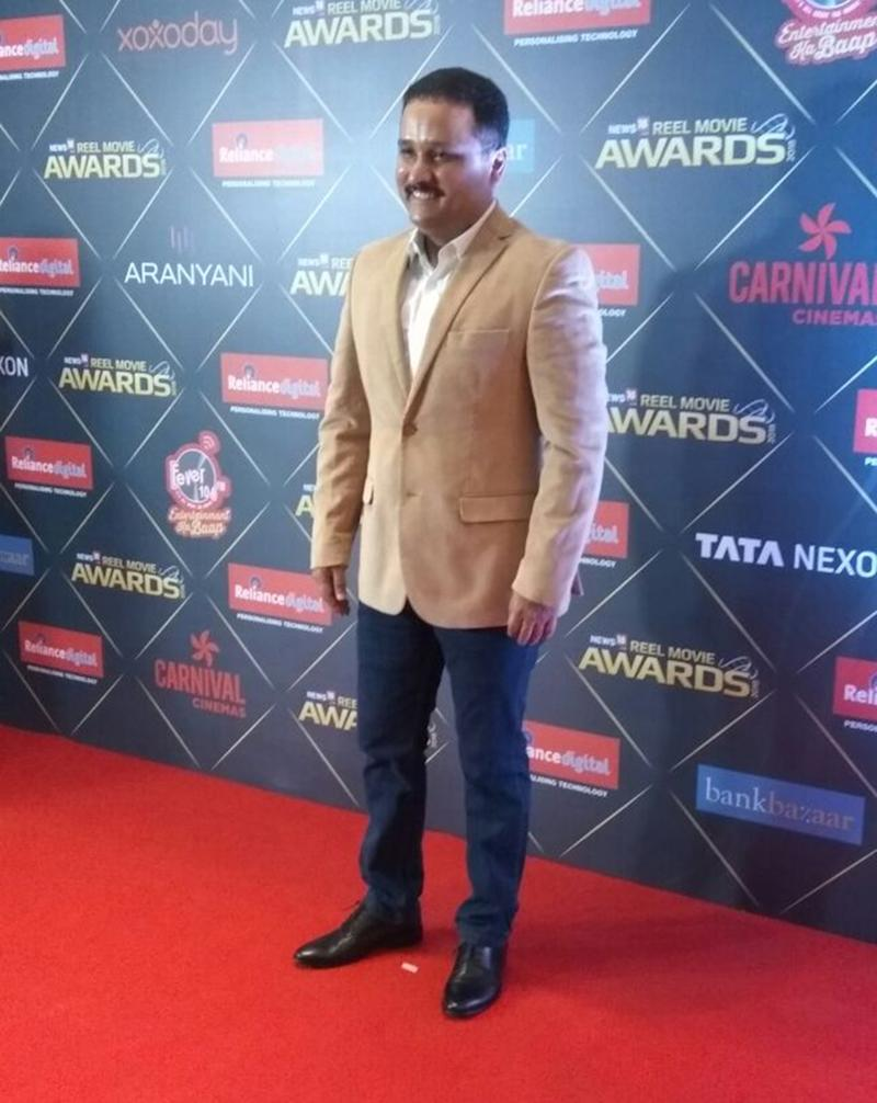 Author Amish Tripathi arrives for the first edition of News18 REEL Movie Awards held at Taj Land's End in Mumbai on March 20, 2018. (Image: News18)