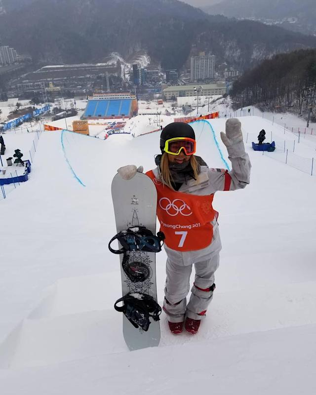 <p>Superstar snowboarder Chloe Kim has enjoys her practice on the hills to prepare for the halfpipe competition. (Instagram/@chloekimsnow) </p>