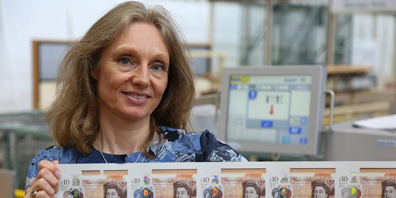 Victoria Cleland, Bank of England Chief Cashier