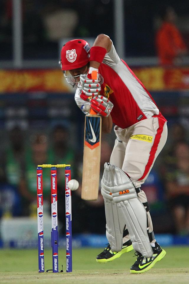 Mandeep Singh during match 25 of the Pepsi Indian Premier League between The Sunrisers Hyderabad and The Kings XI Punjab held at the Rajiv Gandhi International  Stadium, Hyderabad  on the 19th April 2013..Photo by Ron Gaunt-IPL-SPORTZPICS..Use of this image is subject to the terms and conditions as outlined by the BCCI. These terms can be found by following this link:..https://ec.yimg.com/ec?url=http%3a%2f%2fwww.sportzpics.co.za%2fimage%2fI0000SoRagM2cIEc&t=1493571733&sig=ZcHUlxSStX4eOuVJoeM0Ug--~C