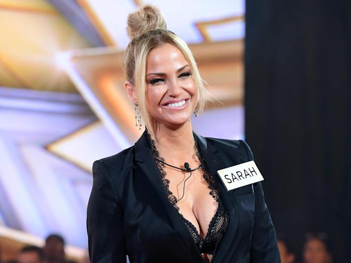 Sarah Harding has revealed her breast cancer diagnosis: Press Association