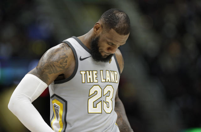 LeBron James could leave the Cavaliers in the offseason. (AP Photo/Tony Dejak)