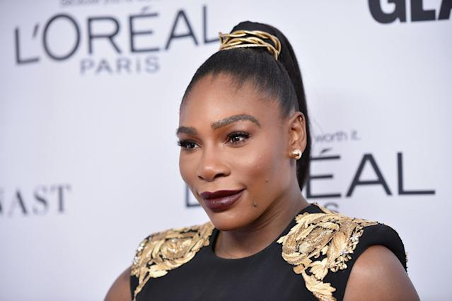 Williams stepped out for the night to honor Gigi Hadid. (Bryan Bedder/Getty Images)