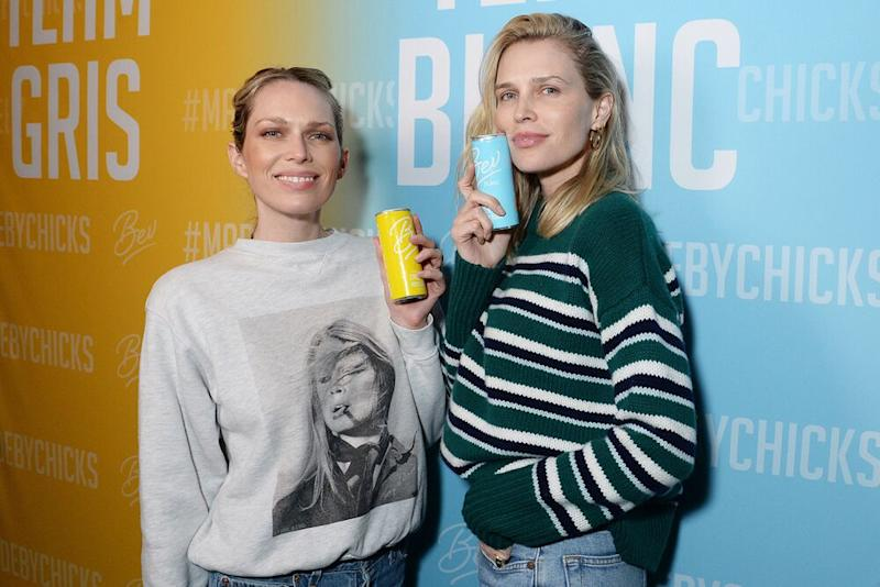 Sara and Erin Foster Celebrate the Launch ofBevSauv Blanc and Pinot Grigio on Thursday, February 6th in LA