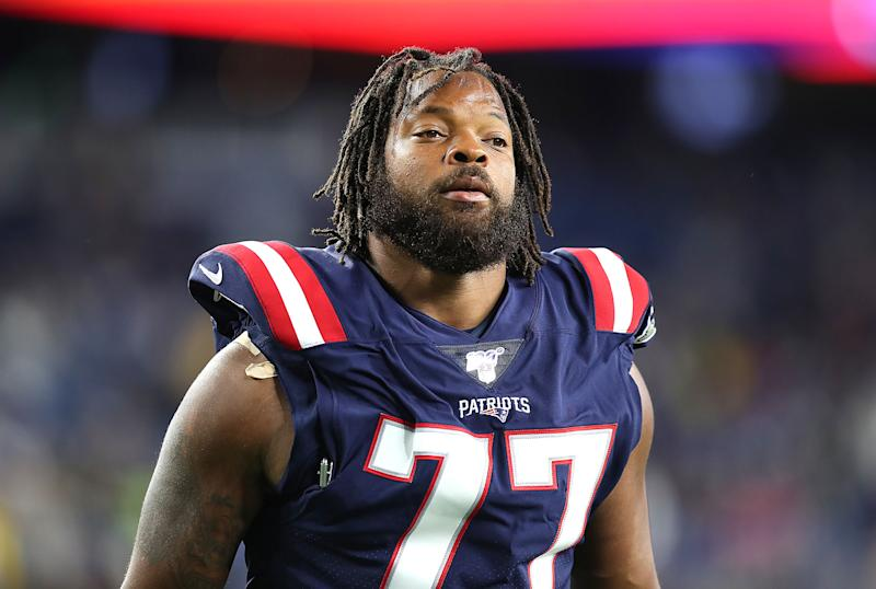 Michael Bennett is apparently not pleased with his role in New England. (Getty)