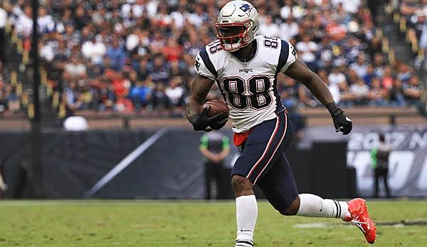 NFL: Patriots setzen Tight End auf Injured Reserve