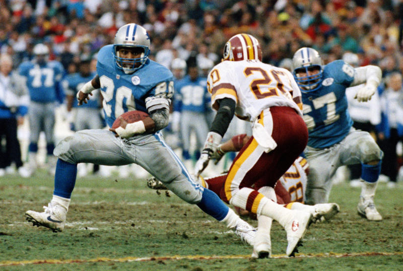 Hall of Fame RB Barry Sanders enjoying new role with Lions 00337decb