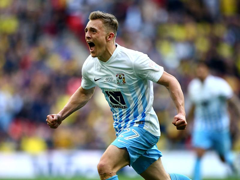 George Thomas scored what proved to be the winner at Wembley: Getty
