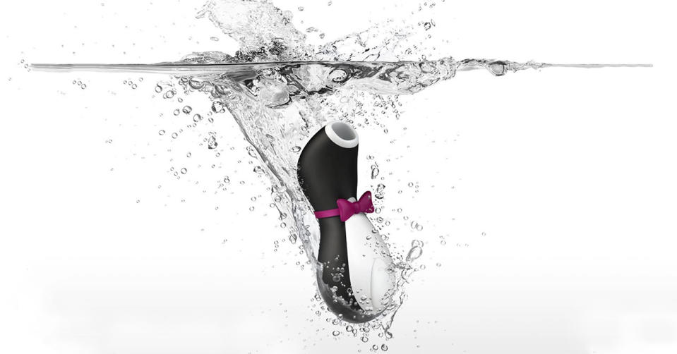 Satisfyer Penguin, otro éxito de ventas - Foto: Amazon.com.mx