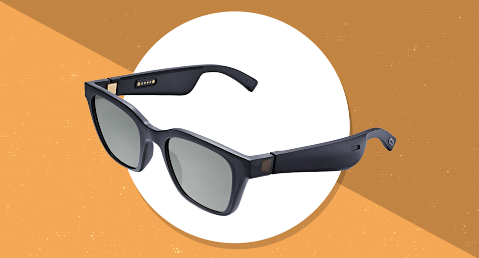 Sun and sound: Bose Frames feature built-in wireless headphones. (Photo: Bose)