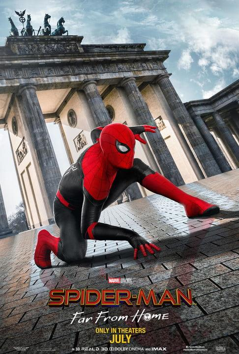 Spider-Man: Far From Home Berlin poster