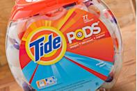 """<p>What started as a meme in early 2018 quickly spiraled into a full-on craze duly titled <a href=""""https://en.wikipedia.org/wiki/Consumption_of_Tide_Pods"""" rel=""""nofollow noopener"""" target=""""_blank"""" data-ylk=""""slk:the Tidepod Challenge"""" class=""""link rapid-noclick-resp"""">the Tidepod Challenge</a>, where teenagers ingested the detergent packets for laughs. Detergent packets like these contain deadly chemicals and have been labeled by the <a href=""""https://www.cdc.gov/mmwr/preview/mmwrhtml/mm6141a1.htm"""" rel=""""nofollow noopener"""" target=""""_blank"""" data-ylk=""""slk:Center for Disease Control"""" class=""""link rapid-noclick-resp"""">Center for Disease Control </a>as a health risk. </p>"""