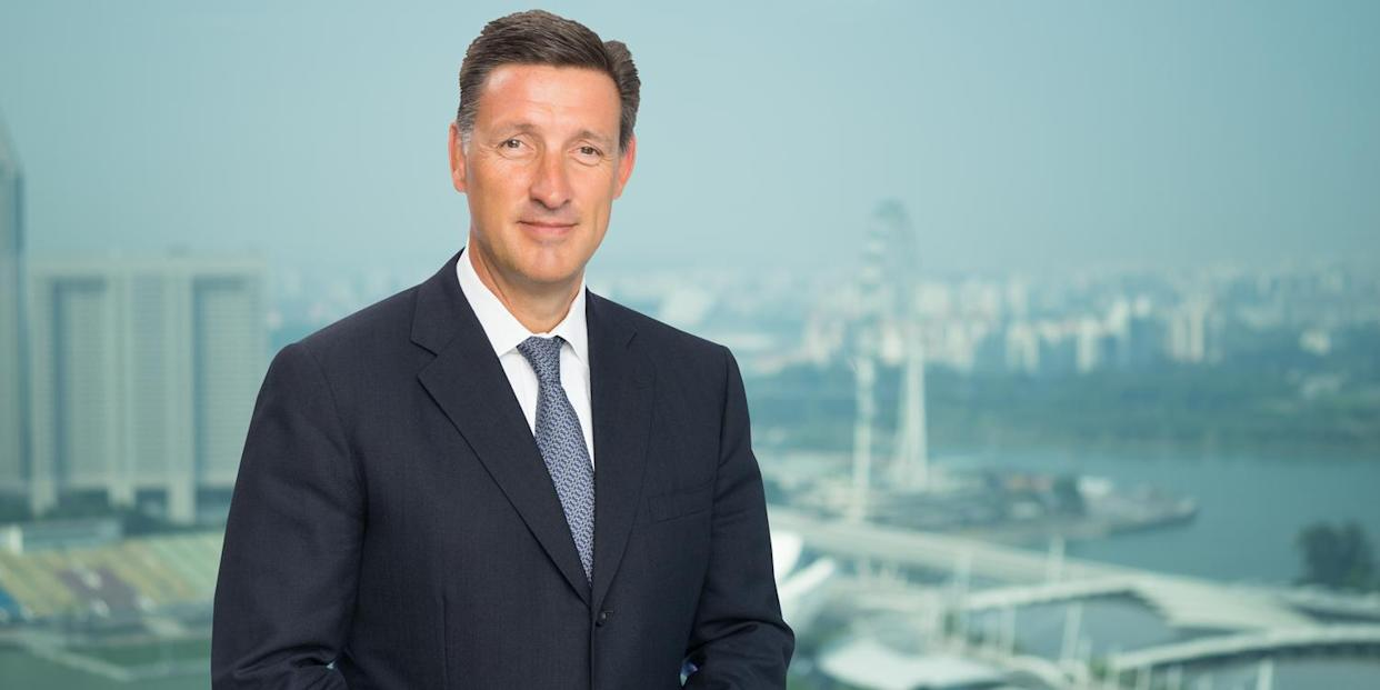 Simon Cooper, CEO, corporate, commercial & institutional banking and CEO, Europe & Americas, Standard Chartered